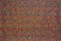 Ana Pérez Ventura.  Étude nº 135, 2012.  Acrylic on canvas.  80 x 120 cm.