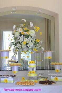 Unique Floral Arrangement Ideas for Events & Homes: Wedding Table ...