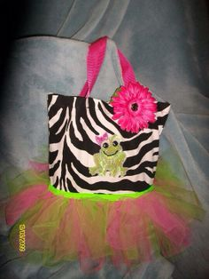 Tutu Tote Bag by SewCraftynOK on Etsy, $20.00