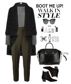 Autumn Day by terrellwills on Polyvore featuring polyvore fashion style Acne Studios Valentino Haider Ackermann Yves Saint Laurent Givenchy Stephen Webster Piaget Repossi Maison Margiela CÉLINE Fendi Christian Dior Chanel clothing