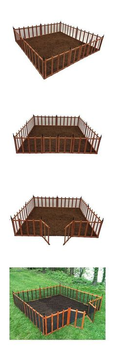 Other Garden Fencing 177033: Terra Garden Fence Gf 4 Protect And Beautify  32 Feet