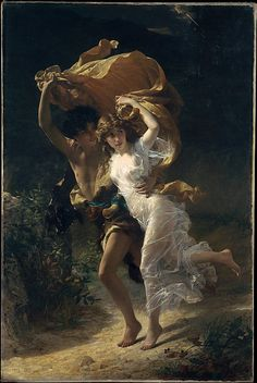 Pierre-Auguste Cot (French, 1837–1883) | The Storm | 1880