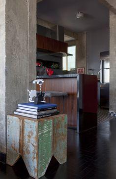 brazilian interiors, industrial