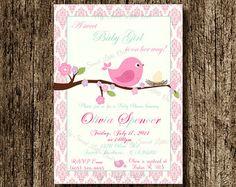 1 compleanno invito stampabile ragazza di uccelli 1 di CallaChic