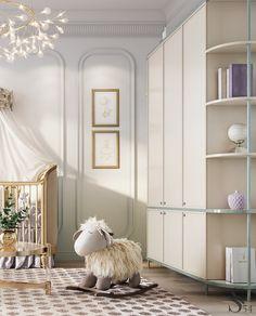 Living Room Tv Cabinet, Luxury Nursery, Living Room Tv Unit Designs, Residential Complex, Bedroom Themes, Luxurious Bedrooms, Luxury Living, Luxury Interior, Modern Bedroom