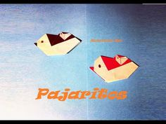 Origami - Papiroflexia. Pájaro mamá con su bebé
