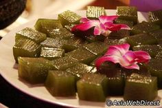 Thai desserts - Look Chub