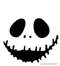 Pumpkin template - Jack face-- I want to carve a pumpkin like this!!