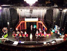 Pippin rehearsal