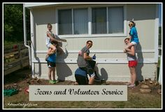 Great ideas to get your kids involved in volunteer service