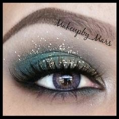 .@makeupby_mars | Close up of today's makeup using #houseoflashes Noir Fairy in brown. .and th... | Webstagram - the best Instagram viewer