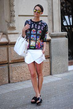 stained glass sweatshirt-- #ZinaCharkoplia. #Fashionvibe