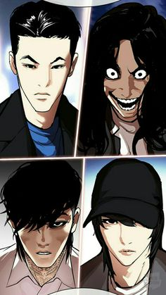 Lookism Webtoon, Japanese Art Prints, Anime Character Drawing, Some Girls, Anime Characters, Fictional Characters, Anime Guys, Manhwa, Comics