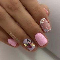 Love Nails, My Nails, Beauty Nails, Hair Beauty, Nagellack Design, Nailart, Nail Decorations, Shellac, Nails On Fleek
