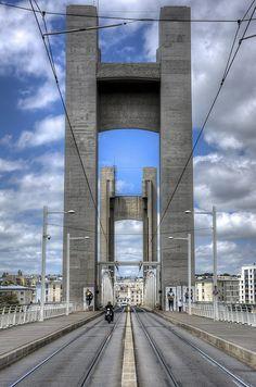 Bretagne 02 - Brest : Pont de Recouvrance | par rodeo's - Roberto Defilippi | Finistère | Bretagne | #myfinistere