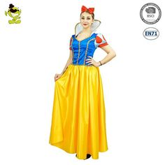 4f7823af63c Adult Snow White Princess Costume Sexy Lady'S Christmas Party Cosplay Fancy  Dress Outfit Costumes