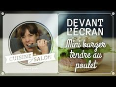 Devant l'écran - Mini burger anglais | Cuisine de Salon