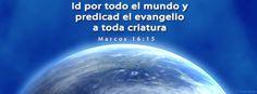 Marcos 16:15 Portadas para Facebook - Facebook covers