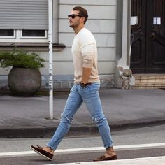 Men street style summer fashion for men brought to you by Tom Maslanka