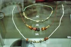 Early medieval Slavic necklaces - Museum in Wrocław, Poland
