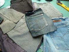 Jeansrecycling, Teil 3: Wir nähen eine Weste » BERNINA Blog Jeans West, Blog, Pants, Fashion, Fashion Styles, Sewing Clothes, Vest, Trouser Pants, Moda