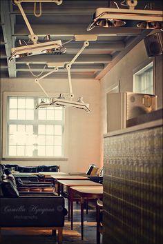 Restaurant/Bar Siltanen in Helsinki. Beautiful yet intriguing atmosphere.
