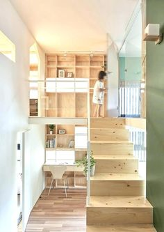 Home Renovation Inspiration Block Village: A Futuristic Home with Contemporary Interior and Spatial Functions Apartment Renovation, Apartment Design, Micro Apartment, Small Apartments, Small Spaces, Open Spaces, Interior And Exterior, Interior Architecture, Futuristic Home