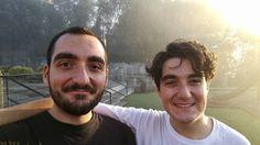 Brotherhood! #IHaveSeenTheLight #Selfie #Morning #Exercise