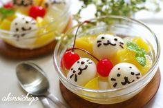Seal shiratama fruit punch