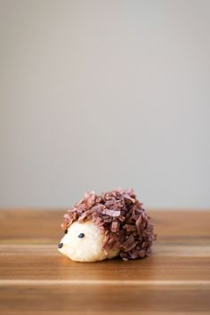 These adorable hedgehog cookies are topped with chocolate coconut spines, and will be sure to delight kids and adults alike.
