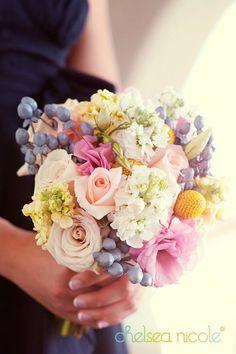 Enchanted Florist Las Vegas--gorgeous pastel bouquet