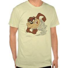 Taz spinning fast t-shirts