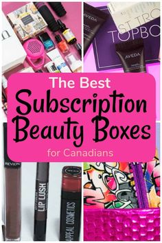 Get samples from skincare, body care, makeup, haircare and fragrance. Here are The Best Subscription Beauty Boxes for Canadians Perfume Glamour, Perfume Parfum, Perfume Hermes, Perfume Versace, Fragrance Parfum, Perfume Oils, Fragrances, Perfume Tommy Girl, Perfume Good Girl