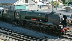 BR (Southern) West Country class 4-6-2 No 34268 'Eddystone'