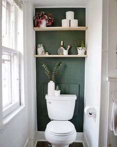 Mini Bathroom Makeover Give your bathroom a mini makeover with an accent wall and some easy diy shelves! Mini Bathroom Makeover Give your bathroom a mini makeover with an accent wall and some easy diy shelves! Diy Bathroom, Downstairs Bathroom, Bathroom Renos, Bathroom Interior, Master Bathroom, Bathroom Ideas, Accent Wall In Bathroom, Gold Bathroom, Small Bathroom Inspiration