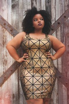Why This Designer's Only Showing Plus-Size Women of Color in Her Clothes
