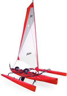 Hobie Mirage Tandem Island - with the Mirage foot pedal drive.