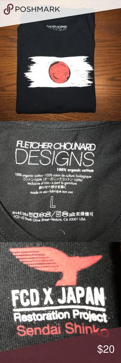 FLETCHER CHOUINARD DESIGNS Tee Men's FLETCHER CHOUINARD DESIGNS FCD Japan Relief Patagonia T-Shirt, worn once, excellent condition. OBO 😊 Patagonia Shirts Tees - Short Sleeve
