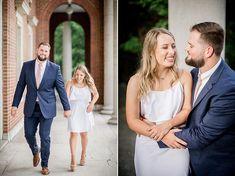 Vanderbilt Engagement Session by Knoxville Wedding Photographer, Amanda May Photos. Amanda May, Nashville Photographers, Vanderbilt University, Engagement Session, White Dress, Couple Photos, Couples, Wedding, Dresses