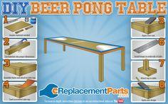 DIY Beer Pong Table