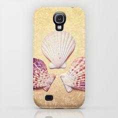3 Shells Samsung Galaxy S4 case by Lisa Argyropoulos