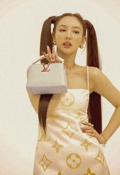 W Korea, Rose Icon, Nayeon, Kpop Girls, Louis Vuitton, Dresses, Room, Fashion, Chanel Outfit