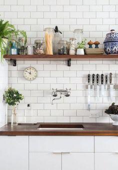 Aufbewahrung und Accessoires für eine Küche à la Pinterest – Style