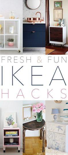 Ikea Hack Billy Bureau Workspace In A Billy Bookcase