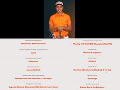 #TeamHeadTrainer Athlete Rickie Fowler Fun Facts