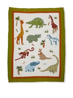 JUNGLE QUILT, BABY