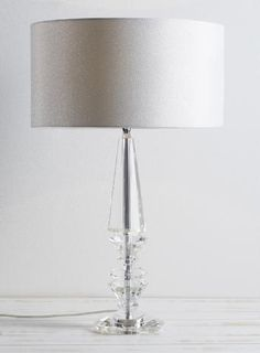 Clear Asia Table Lamp