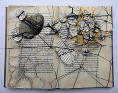 Altered book | pattern of dissolution by Ines Seidel,