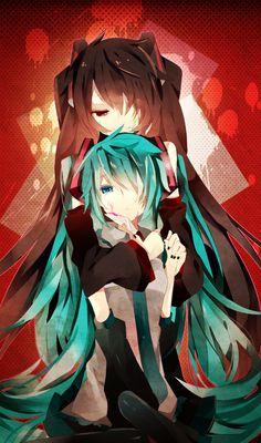 Hatsune Miku and Zatsune Miku
