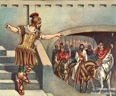 Acts 23 Bible Pictures: Paul escorted to the commander